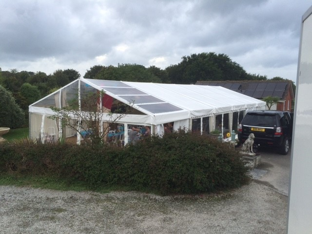 Marquee in Padstow