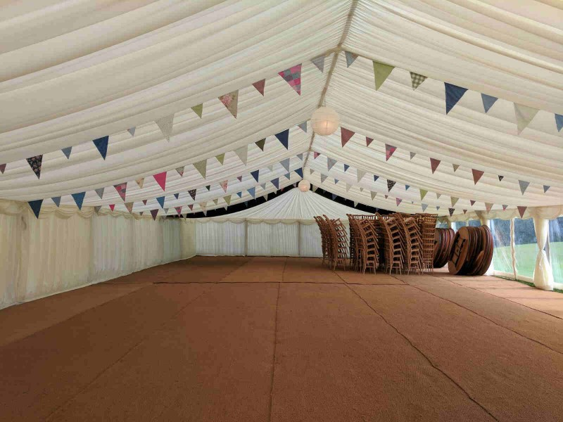 marquee bunting